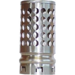 4 in. Round Fixed Stainless Steel Plumbing Vent Cap