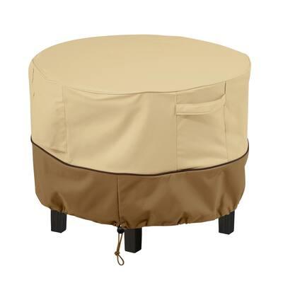 Veranda Round Patio Ottoman/Side Table Cover