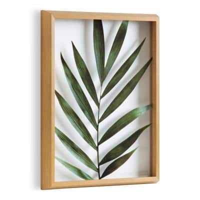 """Blake """"Botanical 5F"""" by Amy Peterson Art Studio Framed Printed Glass Wall Art 20 in. x 16 in."""