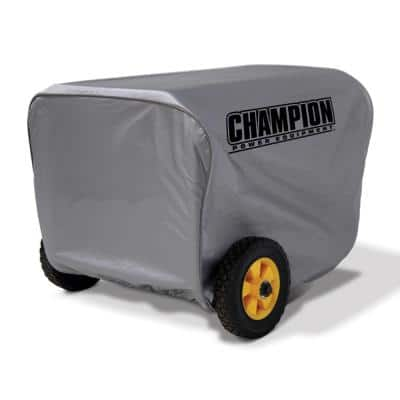 Medium Weather Proof Custom Made Vinyl Generator Cover