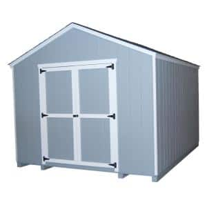 Value Gable 8 ft. x 10 ft. Wood Shed Precut Kit