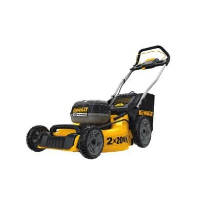 20 in. 20V MAX Lithium-Ion Cordless Walk Behind Push Lawn Mower with (2) 5.0Ah Batteries and Charger Included