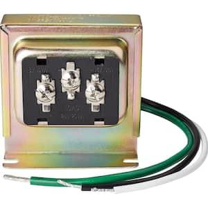 Wired Tri-Volt Doorbell Transformer