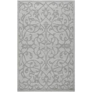 Impressions Gray 6 ft. x 9 ft. Area Rug