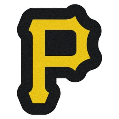 MLB - Pittsburgh Pirates 30 in. x 39 in. Indoor Area Rug Mascot Mat