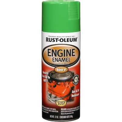 12 oz. Semi-Gloss Grabber Green Engine Enamel Spray Paint (6-Pack)
