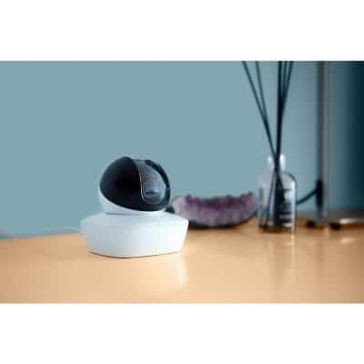 Wireless Connection Indoor Video Surveillance Security Camera with Local and Cloud Storage and Remote Viewing