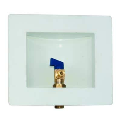 1/2 in. Expansion PEX Plastic Ice Maker Outlet Box