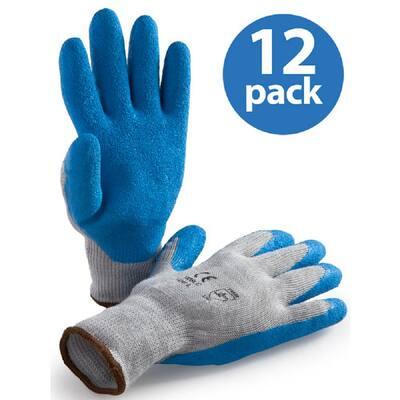 Premium Latex Coated Glove - 12 Pair Value Pack