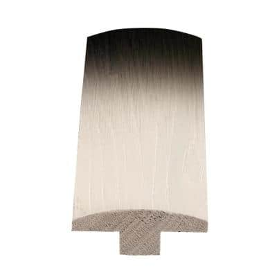 American Hickory Silver Cloud 1/2 in. T x 2 in. W x 78 in. L Solid Wood T-Molding