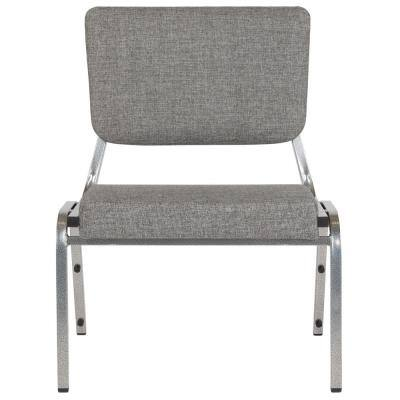 Gray Fabric Stack Chair