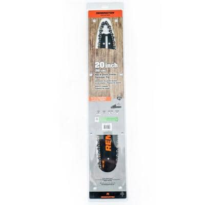 H78 20 in. Chainsaw Bar and Chain Combo