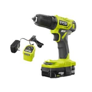 18-Volt ONE+ Cordless 3/8 in. Drill/Driver Kit with 1.5 Ah Battery and Charger