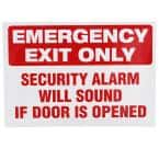 10 in. x 7 in. Emergency Exit Sign