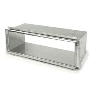 3-1/4 in. x 10 in. Rectangular Stack Duct Starting Collar