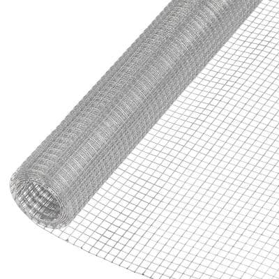 1/2 in. x 2 ft. x 5 ft. Galvanized Hardware Cloth