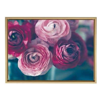 """Sylvie """"Yours Truly"""" by Kristybee Framed Canvas Wall Art"""