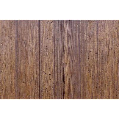 10.67 sq. ft. 1/4 in. x 48 in. x 32 in. Akita Cedar Wainscoting Panel