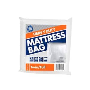 Heavy Duty Twin Full Mattress Bag (60 in. W x 101 in. L x 10 in. D)