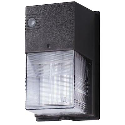 TWS 42-Watt Dark Bronze Motion Sensing Wall Pack Light