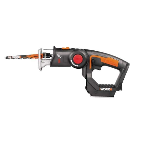 Worx POWER SHARE 20-Volt Axis Cordless Reciprocating and Jig Saw (Tool Only)