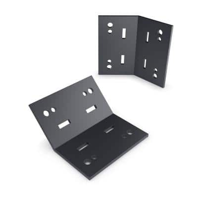 5 in. 45° Flush Inside Galv. St. Structural Wood Support (2 Per Box)