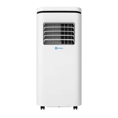 10,000 BTU (5,500 BTU, DOE) Portable Air Conditioner, Dehumidifier App, Quiet Operation & Alexa Voice Control in White