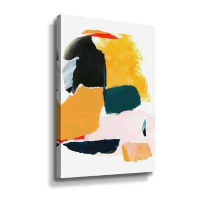 'Collage Studies 18-02' by Iris Lehnhardt Canvas Wall Art