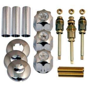 Tub and Shower Rebuild Kit for Gerber 3-Handle Faucets