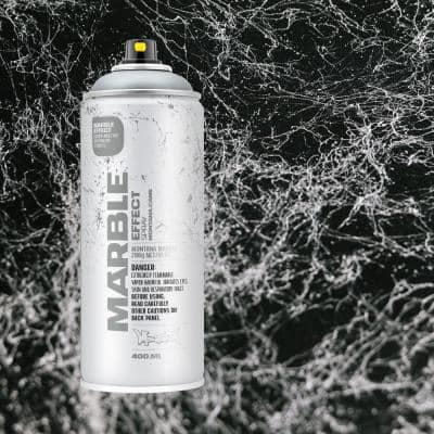 10 oz. MARBLE EFFECT Spray Paint, Silver