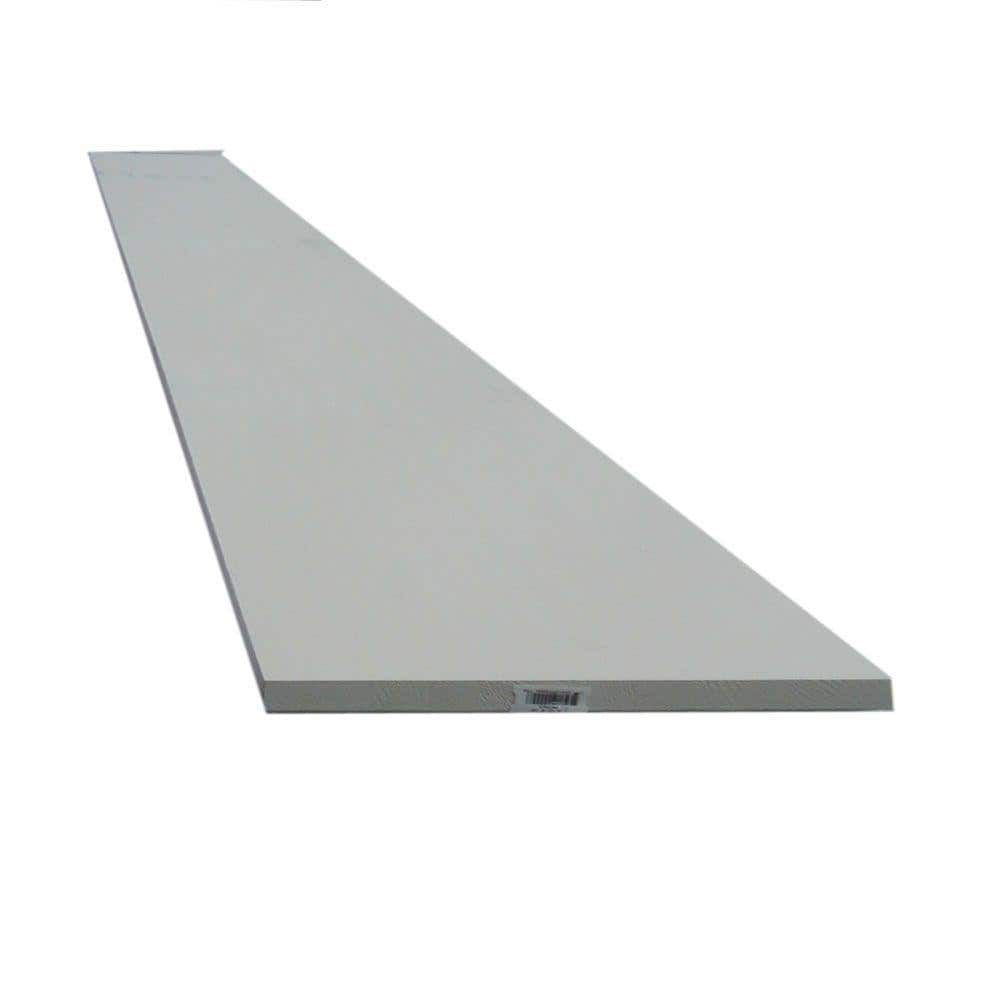 1 In X 8 In X 8 Ft Primed Finger Joint Board 590666 The Home Depot