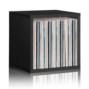15 in. H x 15 in. W x 13 in. D Black Recycled Materials 1-Cube Storage Organizer