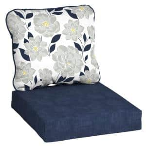Flower Show Deep Seating Outdoor Lounge Chair Cushion