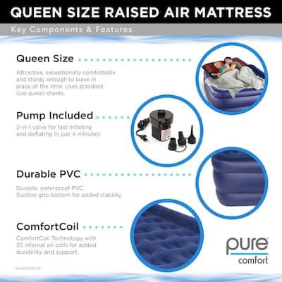 Queen Size Raised Air Mattress