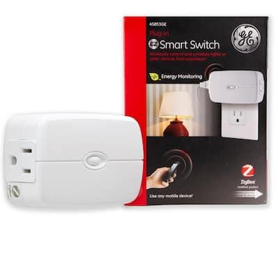 Zigbee Plug-In Energy Monitoring Smart Switch