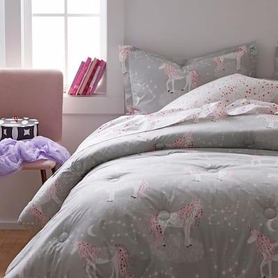 Unicorn Magic Organic Cotton Percale Comforter