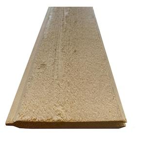 1 in. x 6 in. x 8 ft. Beach Cottage White SPF Board (6 Boards Per Bundle)