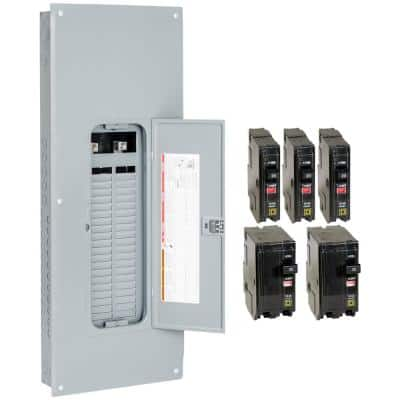 QO 225 Amp 42-Space 42-Circuit Main Lugs Load Center with Cover- Value Pack
