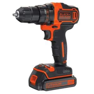20-Volt MAX Lithium-Ion Cordless 3/8 in. Drill/Driver with Battery 1.5Ah and Charger