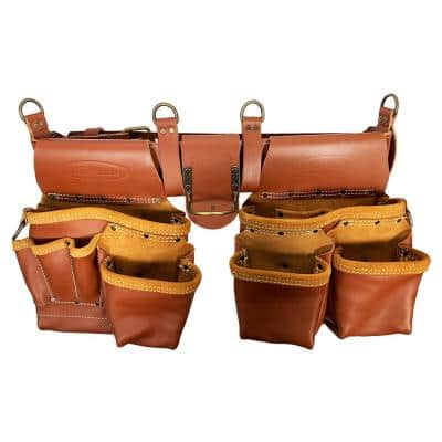 Master's 52.5 in. Brown Leather Rig (2-Bag)