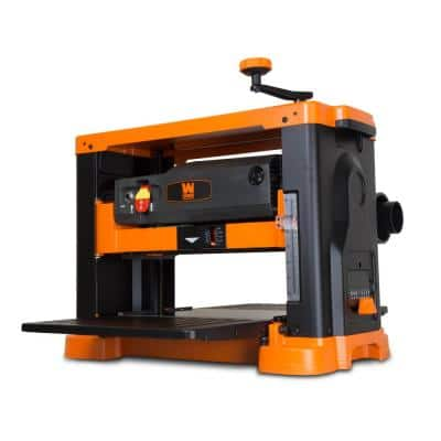 13 in. 15 Amp 3-Blade Benchtop Thickness Planer