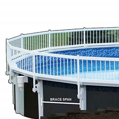 Premium Guard Above Ground Pool Fence Add-On Kit C (2-Spans)