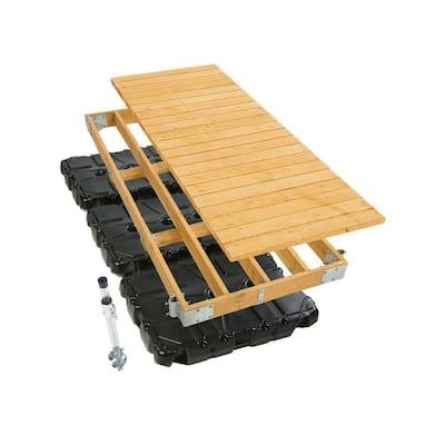 4 ft. x 10 ft. Commercial Grade Floating Dock Kit