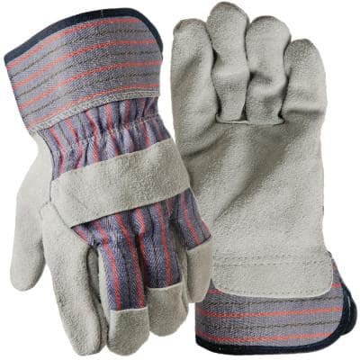 Suede Leather Palm Large Glove