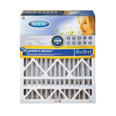 20 x 25 x 5 Carrier/Bryant FPR 10 Air Cleaner Filter