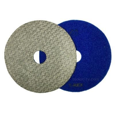 7 in. 60-Grit Electroplated Diamond Polishing Pads