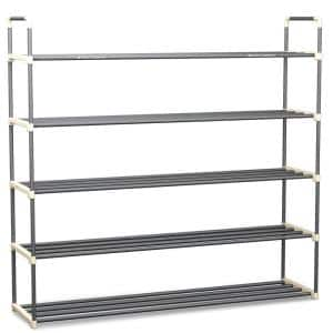 30-Pair 5-Tier Shoe Rack