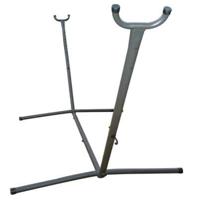9 ft. Steel Universal Hammock Stand in Charcoal