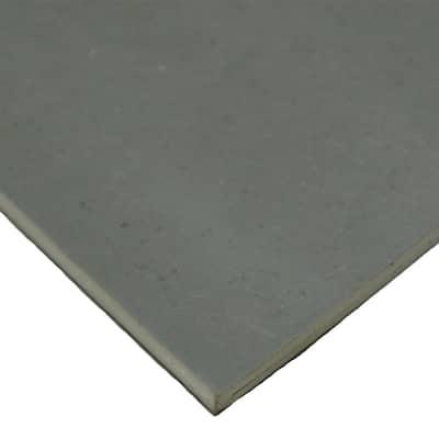 SBR 3/16 in. x 24 in. x 12 in. Gray 65A Sheet