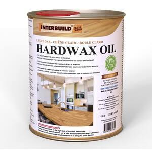 Light Oak Hardwax Oil 1000 ml